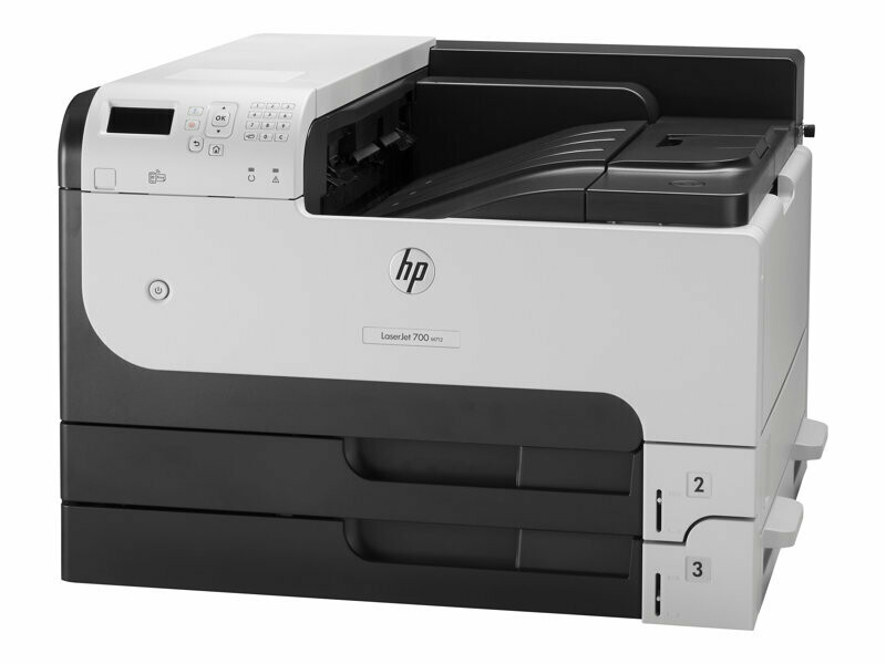 HP LaserJet Enterprise 700 Black & White Printer M712dn - 40ppm - Duplex & Network - A3/A4