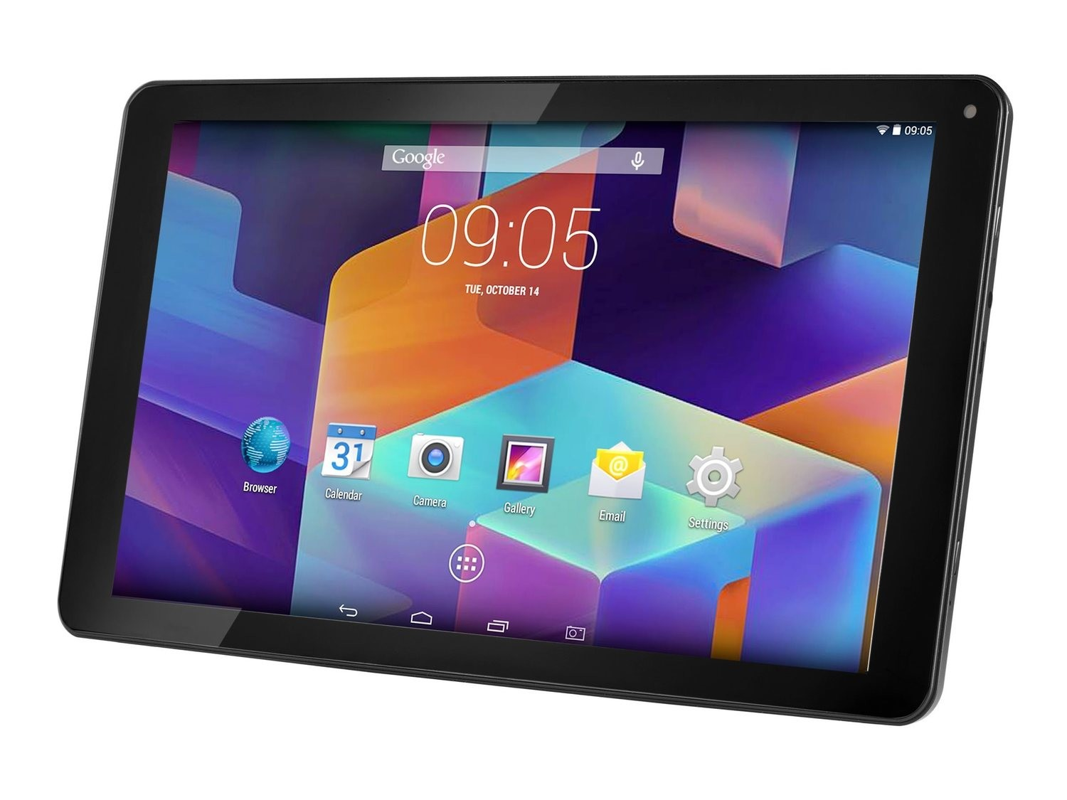 "Hannspree Helios Quad ore Tablet/10.1"" Screen/1GB Ram/8GB Storage/Android 5.1"