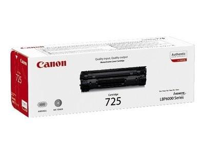 Canon CRG-725 - Black - original - toner cartridge - for i-SENSYS LBP6000, LBP6000B, LBP6020, LBP6020B, LBP6030, LBP6030B, LBP6030w