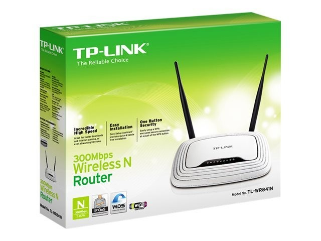 TP-Link TL-WR841N Wireless N300 Cable Router