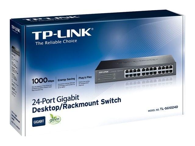 TP-Link TL-SG1024D 24 port Desktop/Rackmount Gigabit Switch