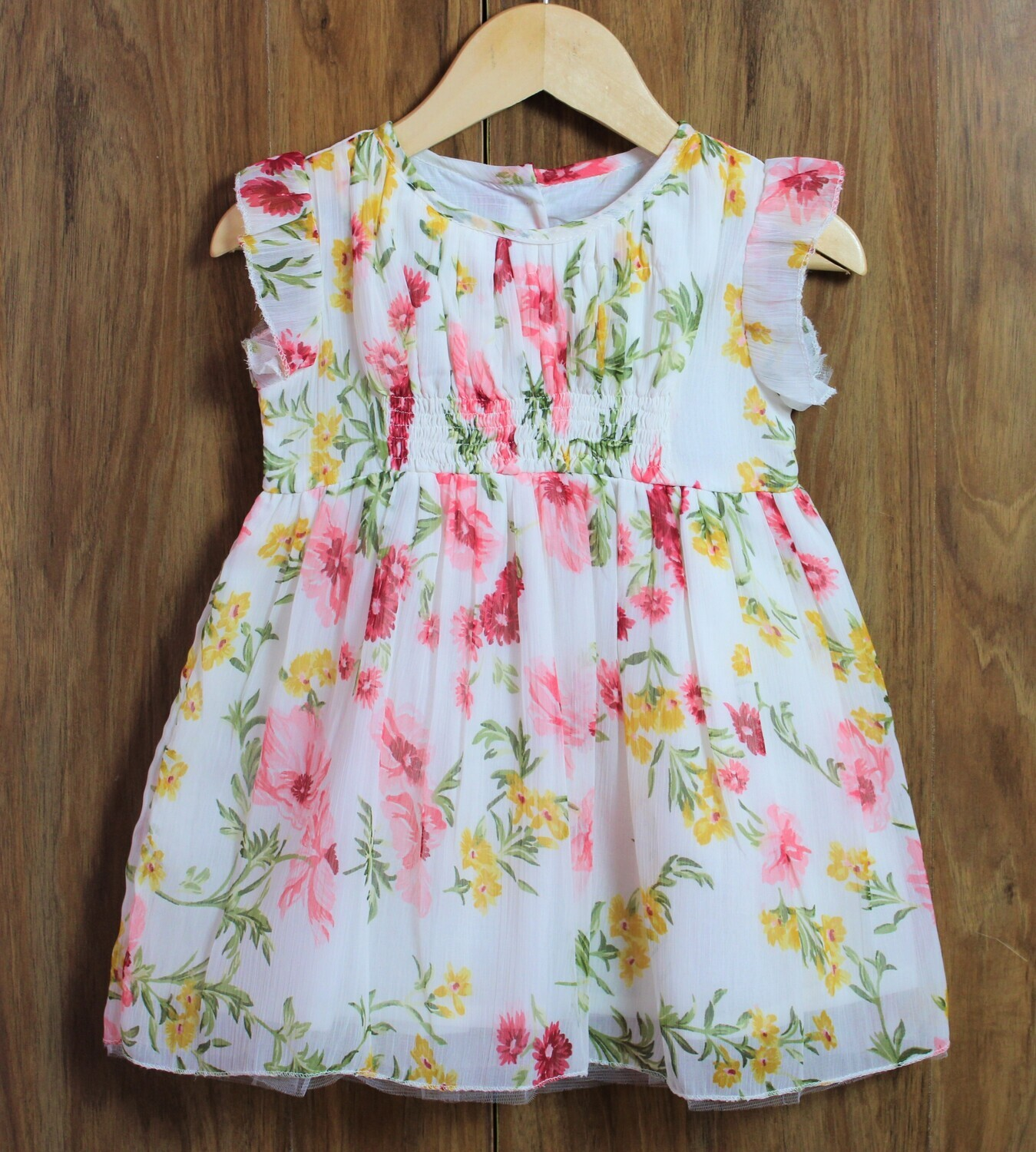 Chiffon with inside lined(1 to 4 Yrs.)