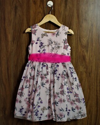 party dress with inside lined(4 to 12 Yrs.)
