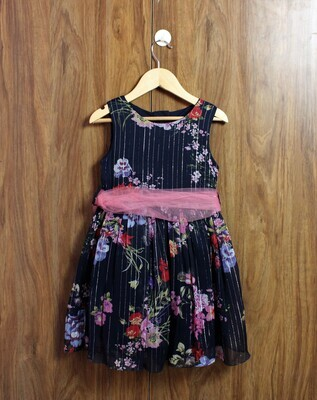 Navy  blue Party frocks(4 to 12 Yrs.)