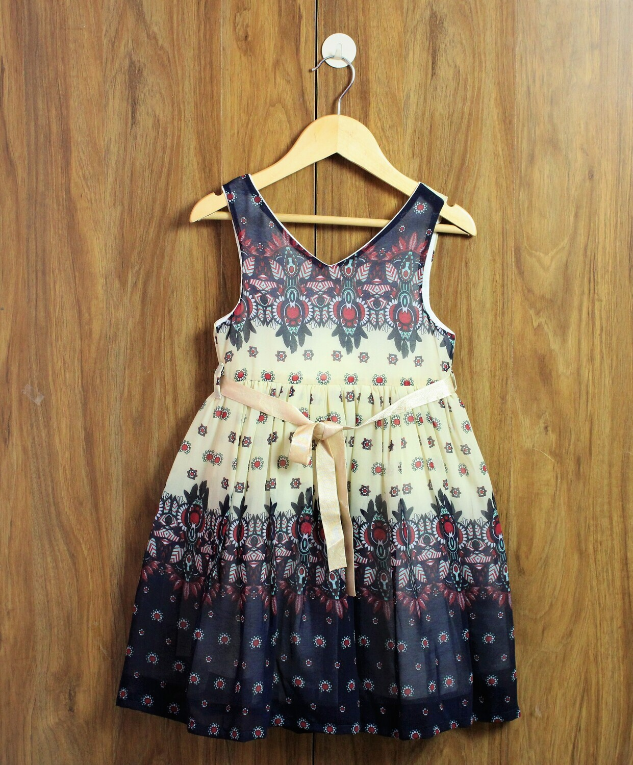 chiffon frocks with good lined cotton