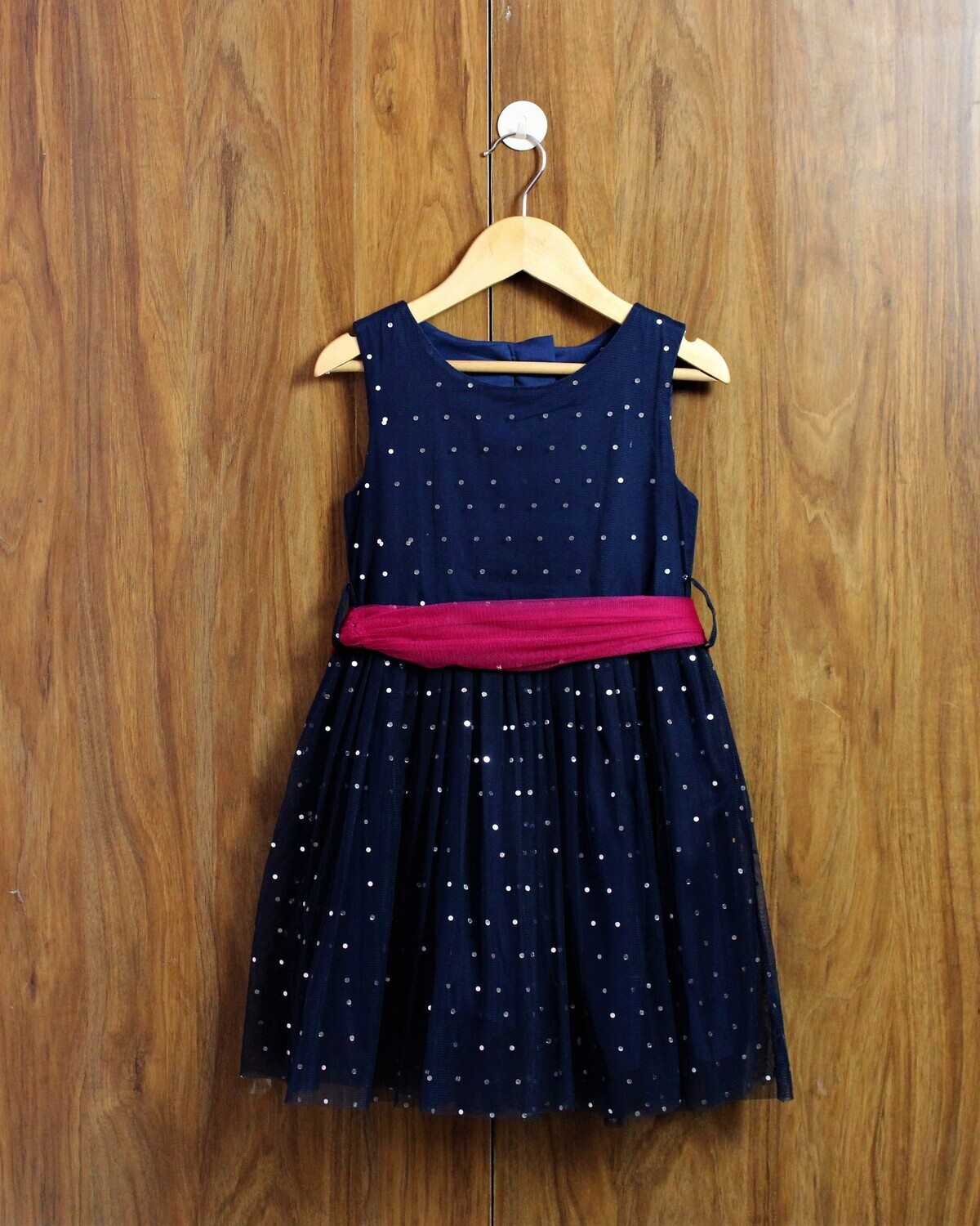 Navy blue party wear(4 to 12 Yrs.)
