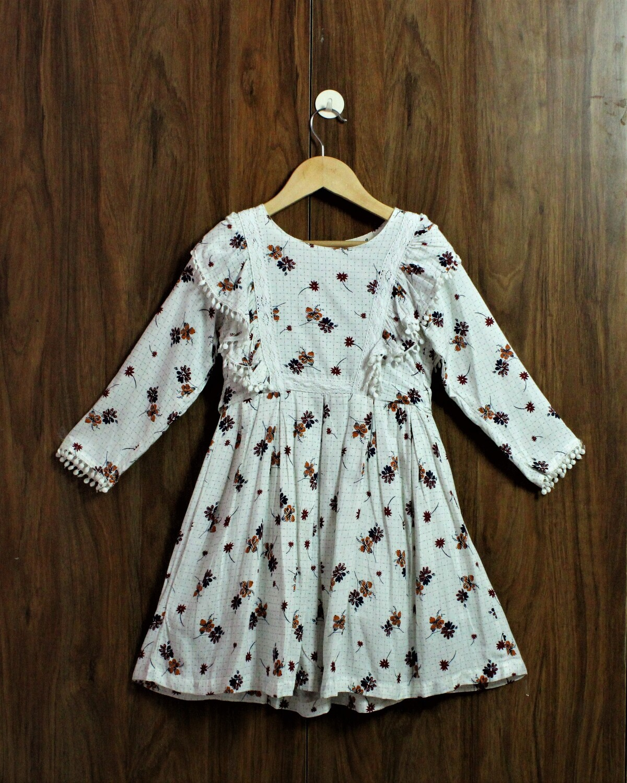 Full sleeve comfort dress(4 to 12 Yrs.)