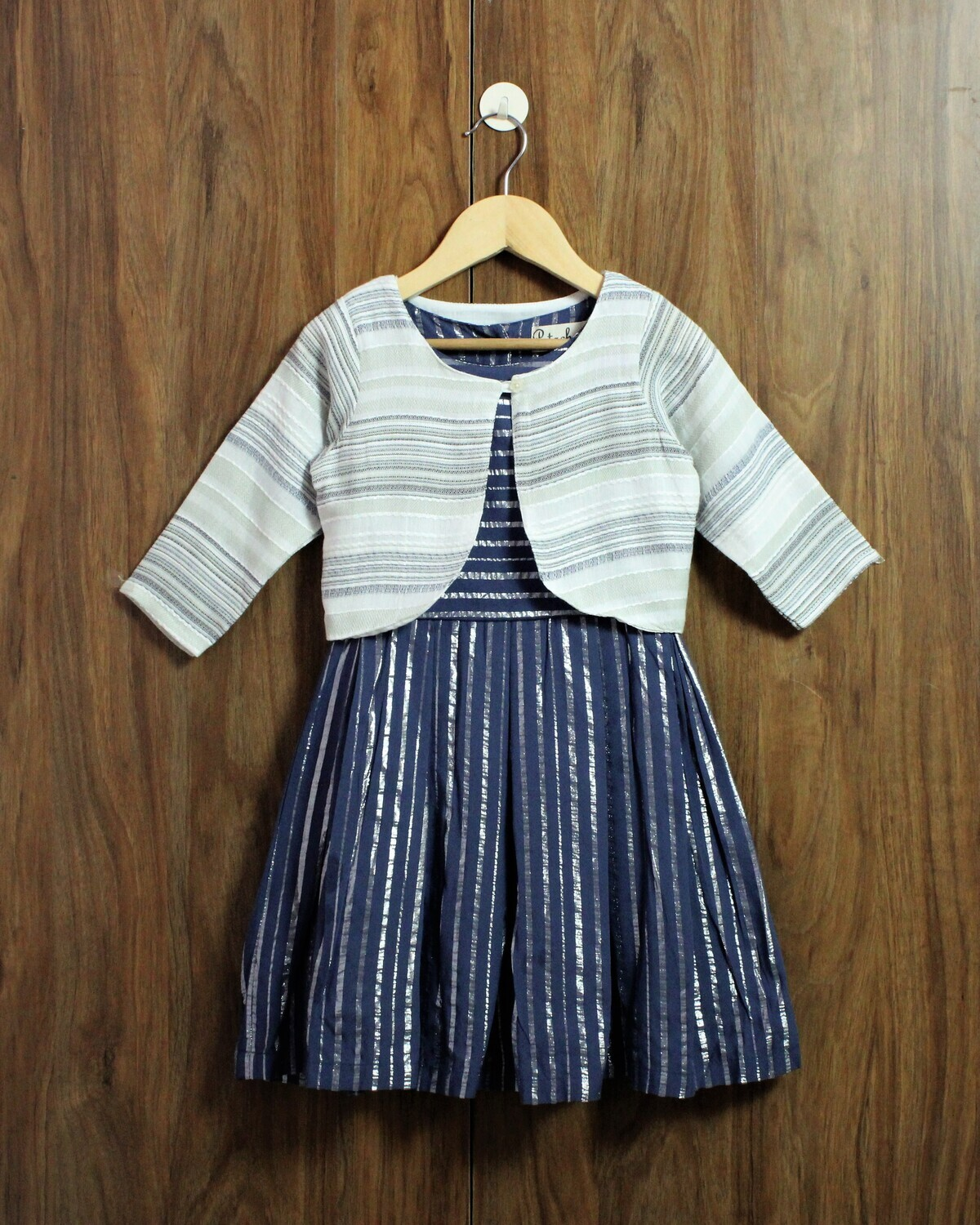 Dress with Shrug(4 to 12 Yrs.)