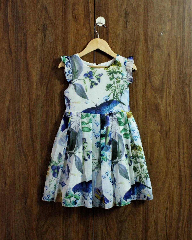 Chiffon Dress(4 to 12 Yrs.)
