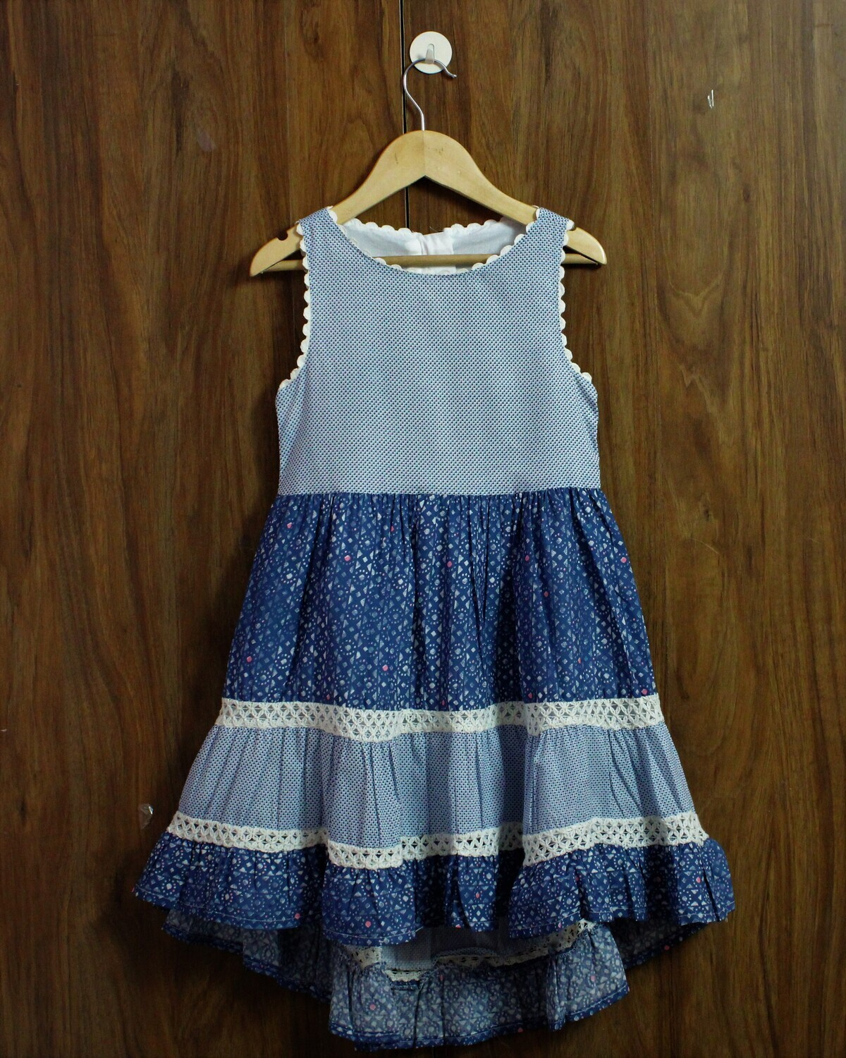 High low dress(4 to 12 Yrs.)