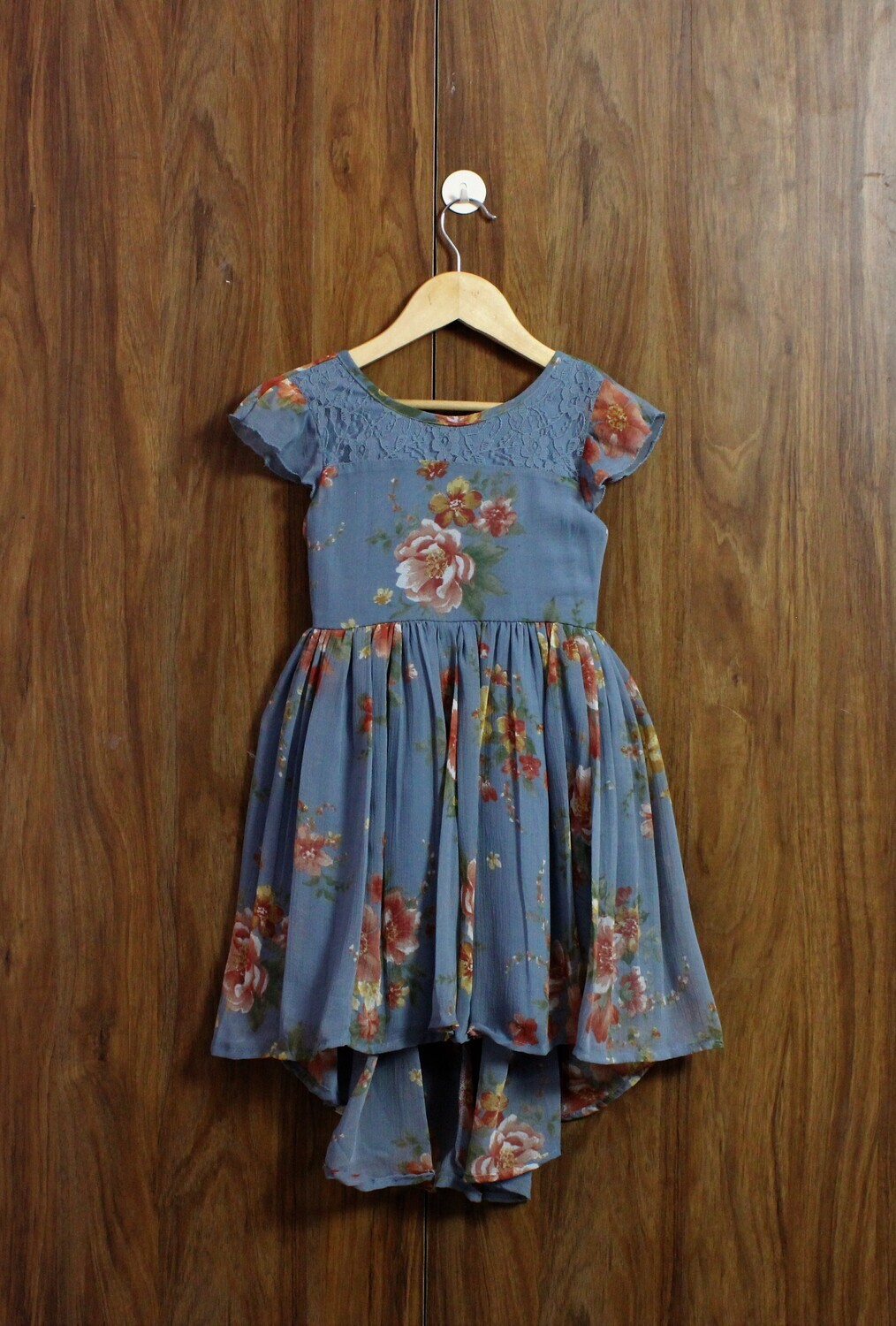 High low design with lined cotton(4 to 12 Yrs.)