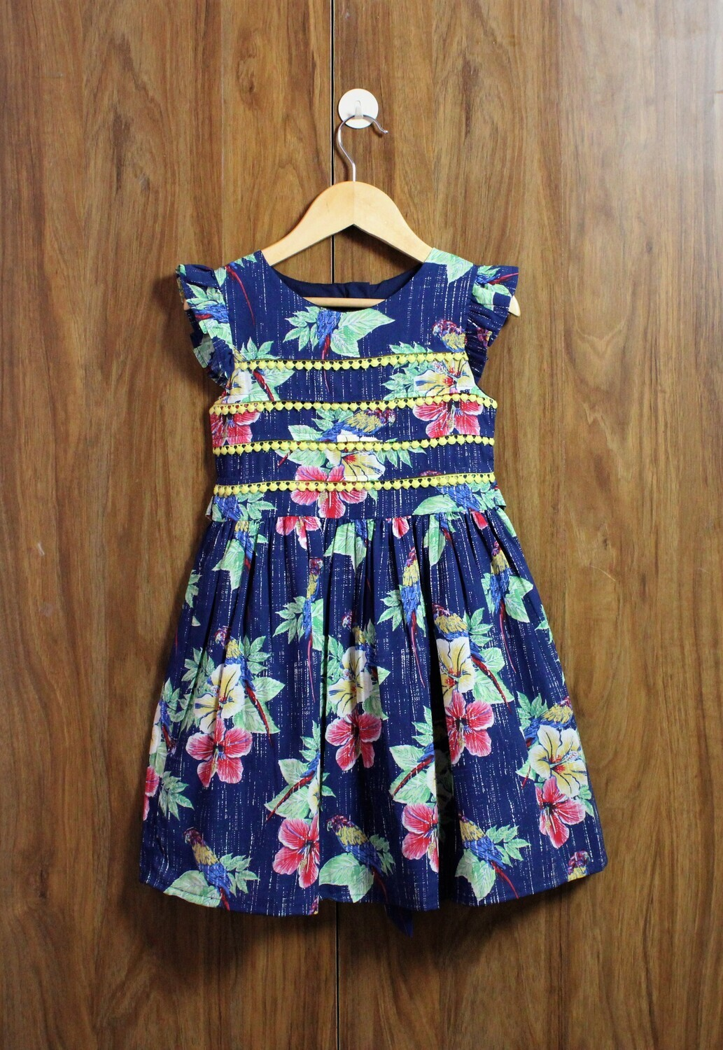 flower print (4 to 14 years)