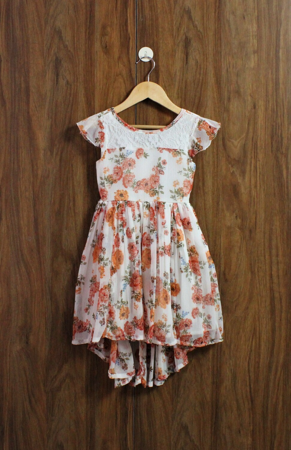 Chiffon with lined cotton (4 to 12 Yrs.)