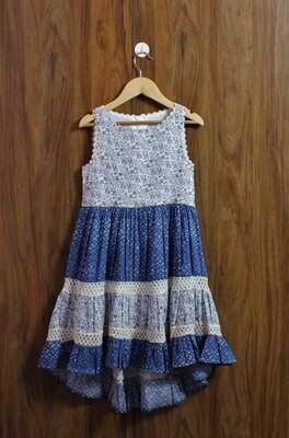 High low design dress(4 to 12 Yrs.)