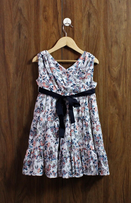 V neck design dress(1 to 6 Yrs.)