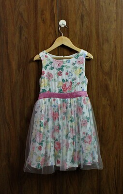 Party dress with soft lined cotton(4 to 12 Yrs.)