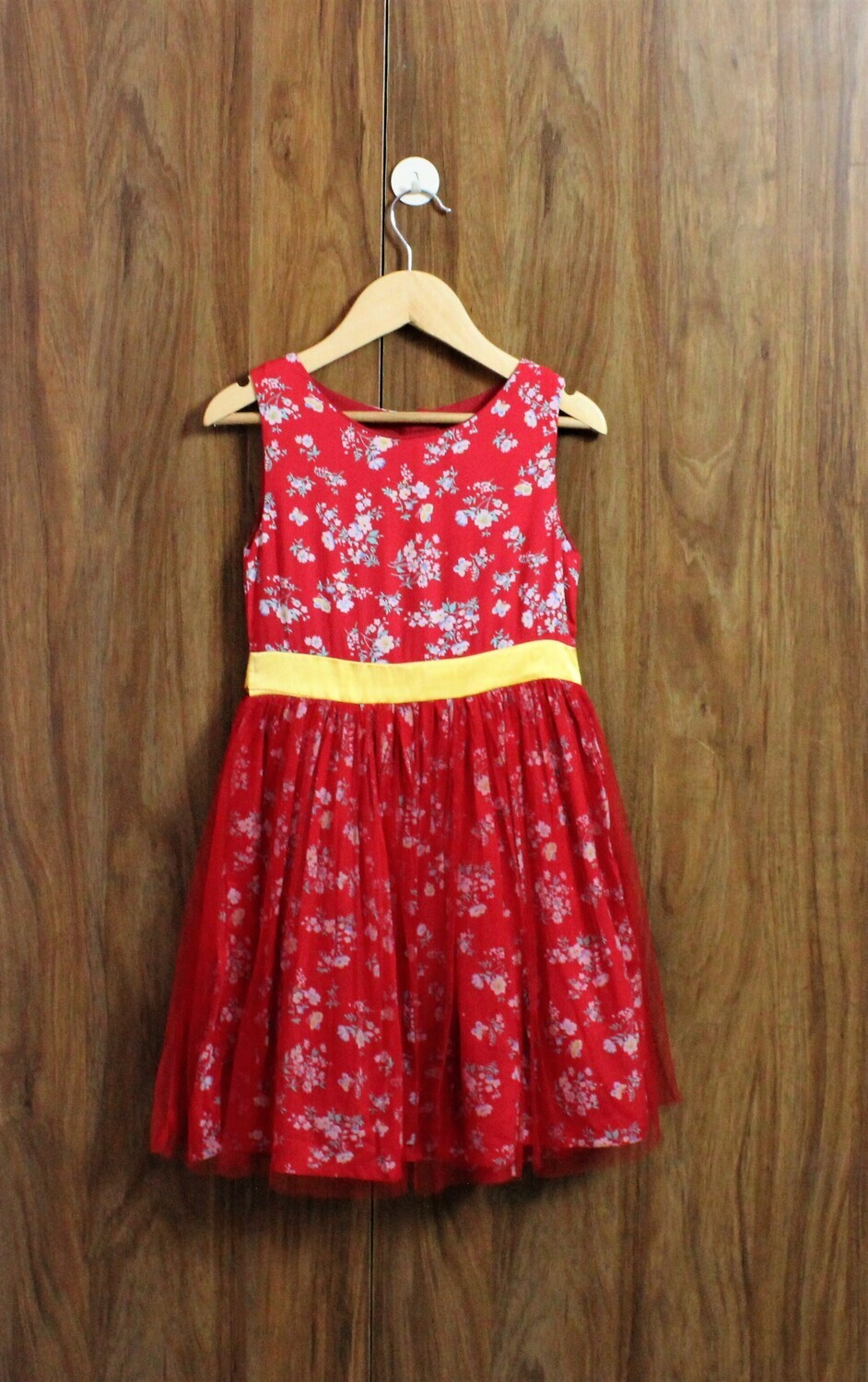 Red party frocks (4 to 12 Yrs)