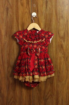 Charm look dress (3 months to 3 Yrs.)