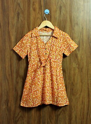 Half sleeve comfort dress(4 to 12 Yrs.)