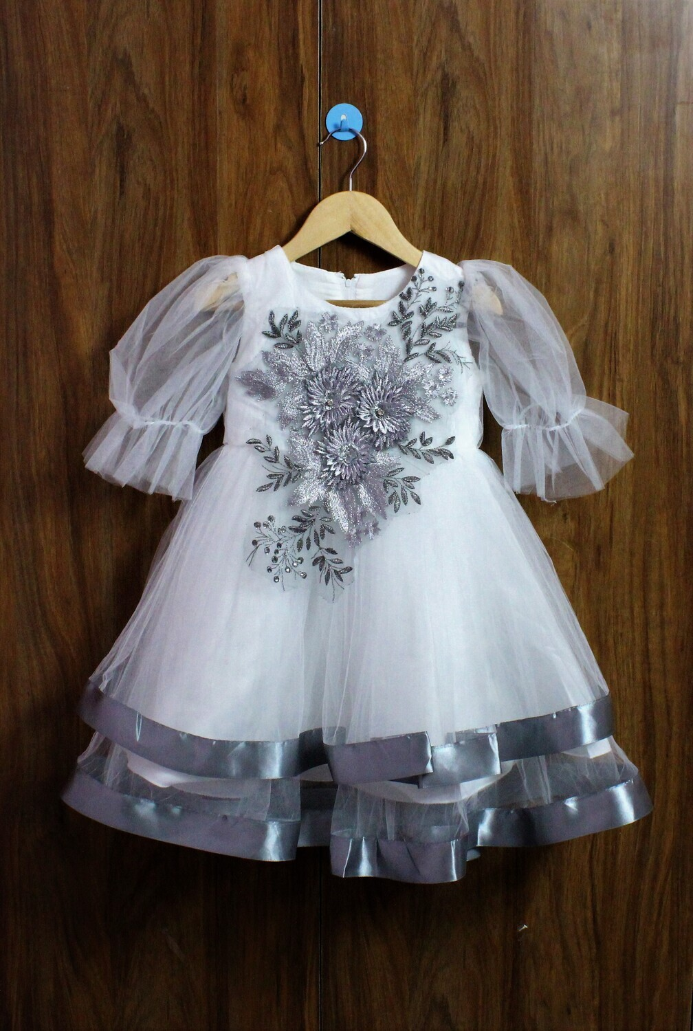 Party frocks with extra comfort(4 to 12 Yrs.)