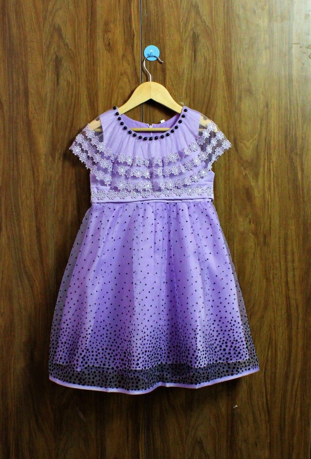purple party frocks with extra comfort(4 to 12 yrs.)
