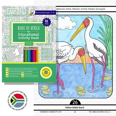 The Nature Series - Kids Educational Activity Books