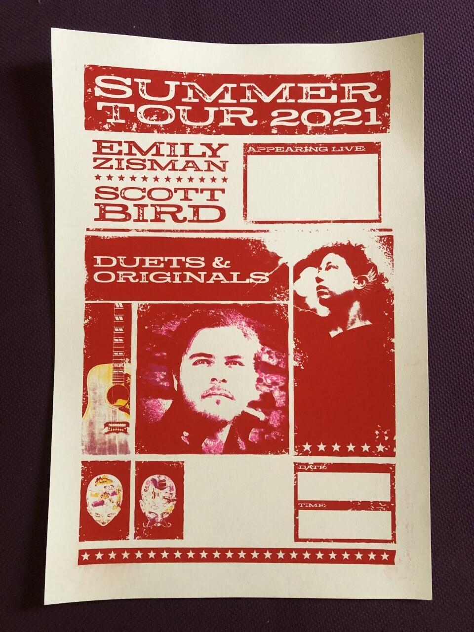 Summer 2021 Tour Poster