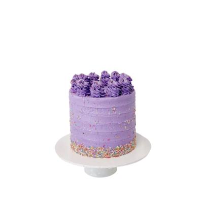 Sprinkle Stripe Cake