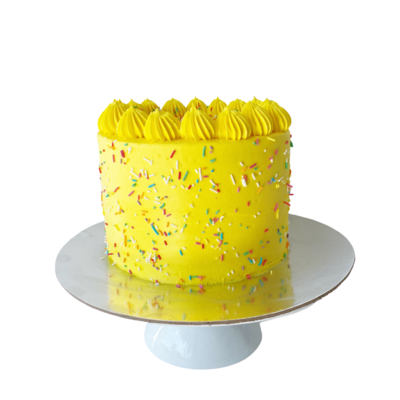 Yellow Party Cake