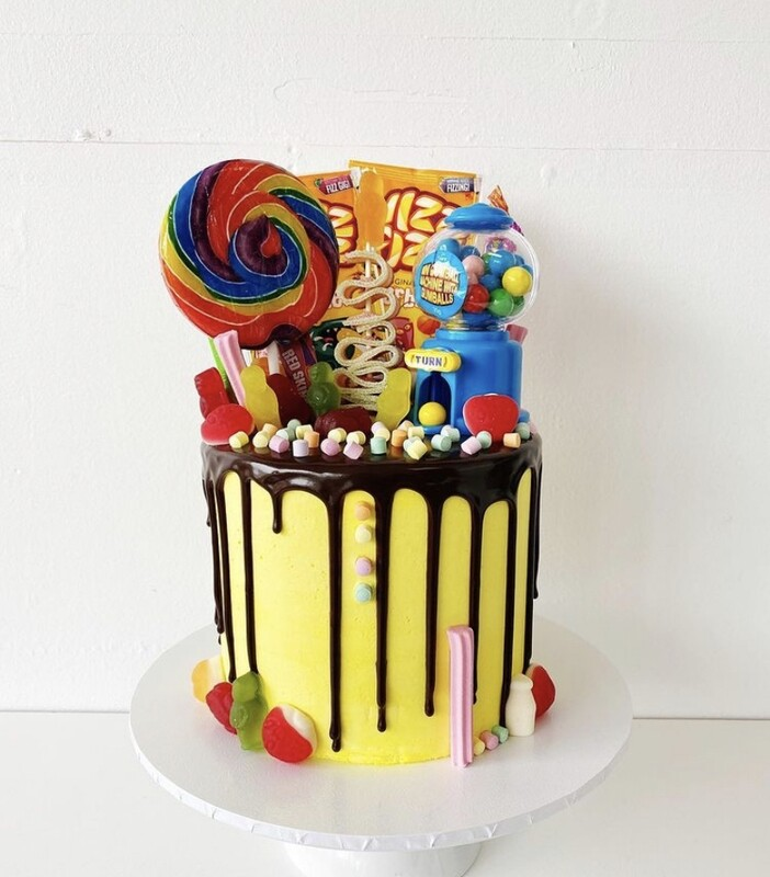 Lolly Over Load cake