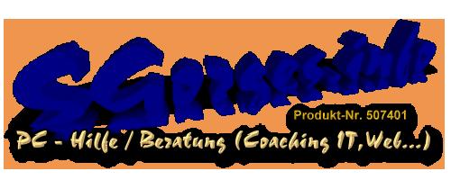 PC – Hilfe/Beratung (Coaching IT, Web…)