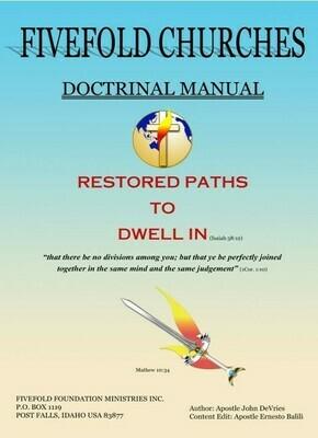 Fivefold Churches Doctrinal Manual (digital download)