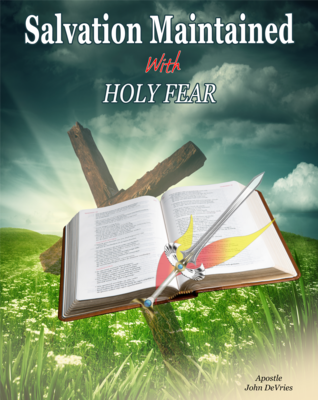 Salvation Maintained with Holy Fear Manual