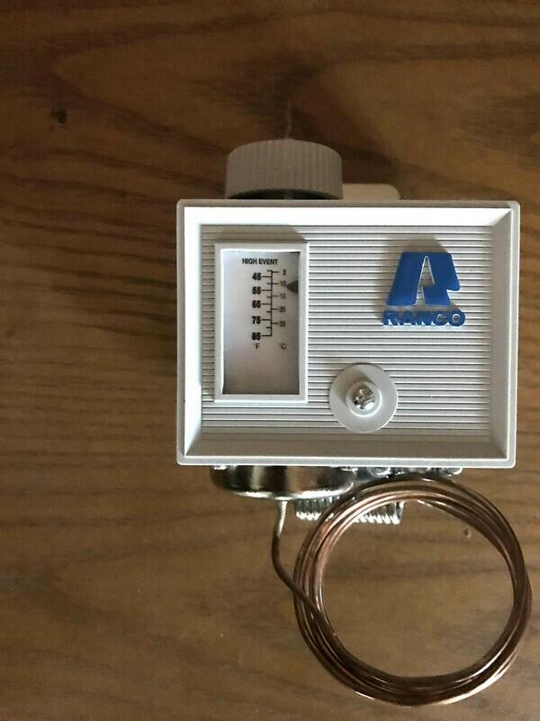 Manual Thermostat / Temperature Control - Tresu Royse