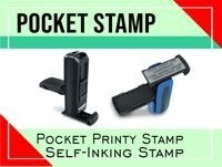 Pocket Stamp Plus P40 22 mm x 58 mm