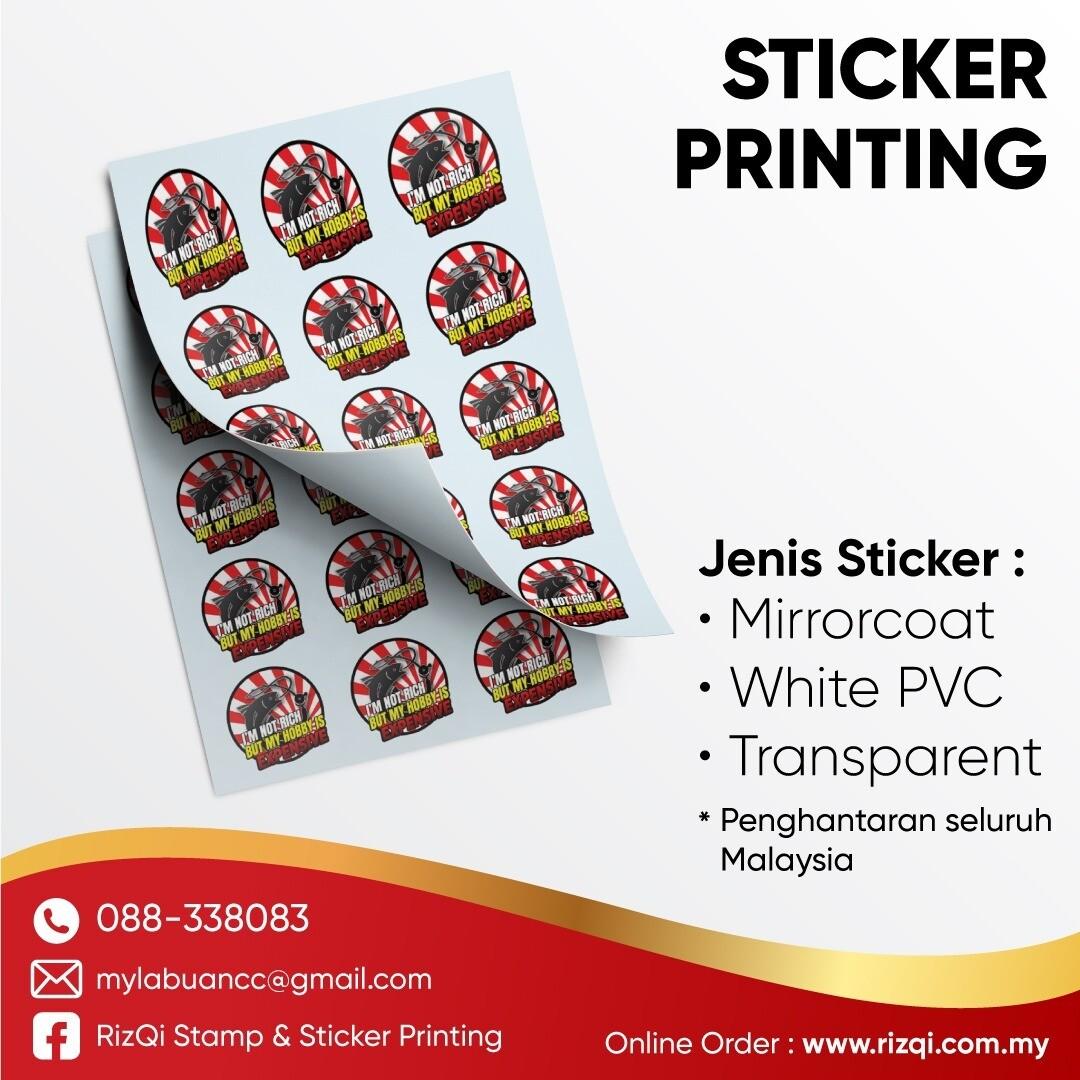 Cetak Sticker Produk