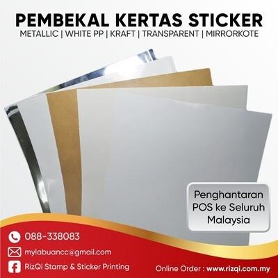 Kertas Label - Sticker