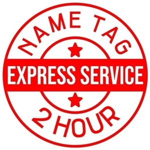 Name TAG | Service Express 2 Jam Ready