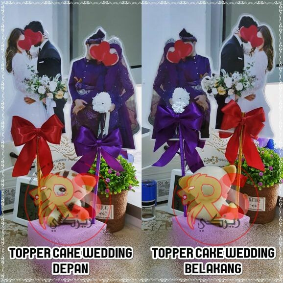 Topper Cake Wedding