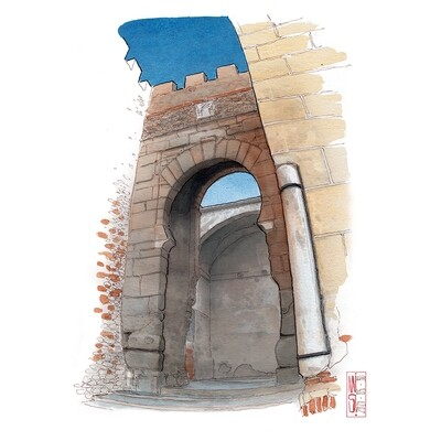 Puerta de la Alcazaba de Badajoz