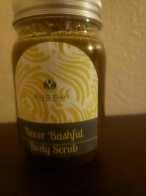 Never bashful body scrub