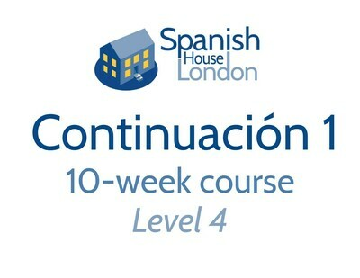Continuacion 1 Course starting on 12th October at 7.30pm in Clapham North