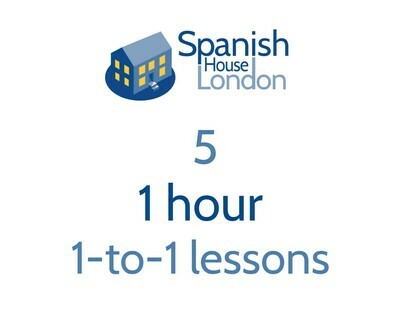 Five 1 hour 1-to-1 lessons