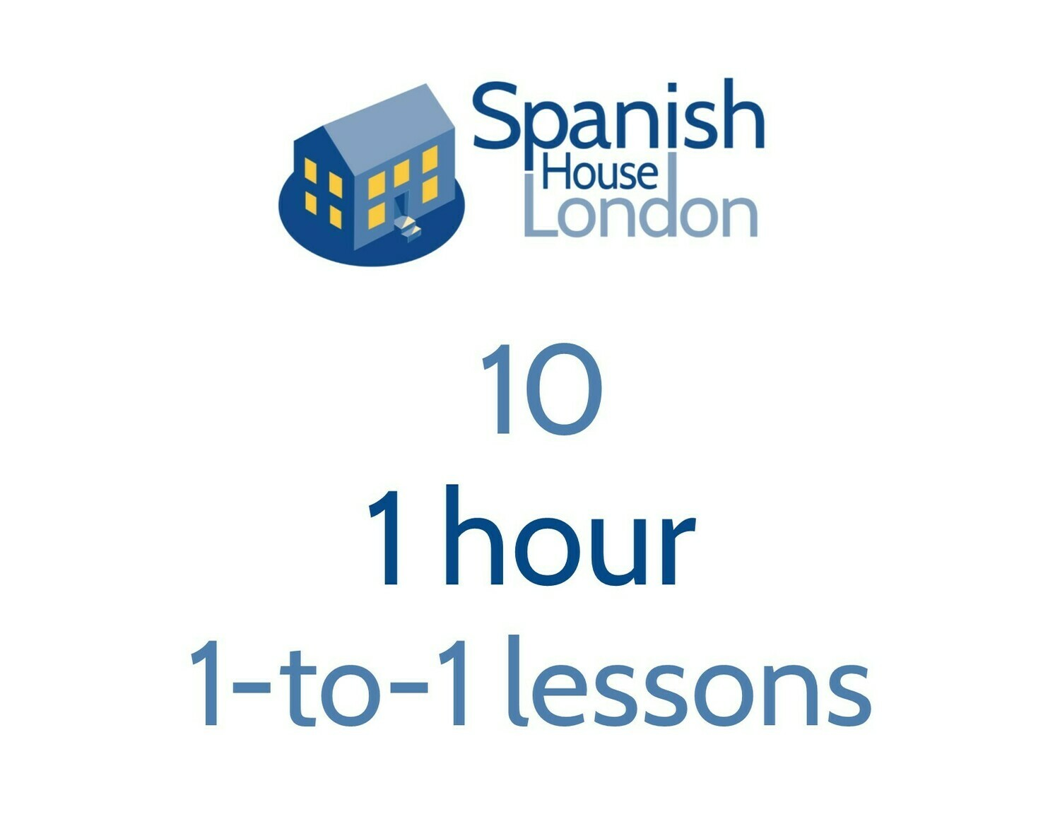 Ten 1-hour 1-to-1 lessons
