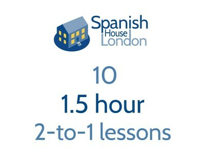 Ten 1.5-hour 2-to-1 lessons