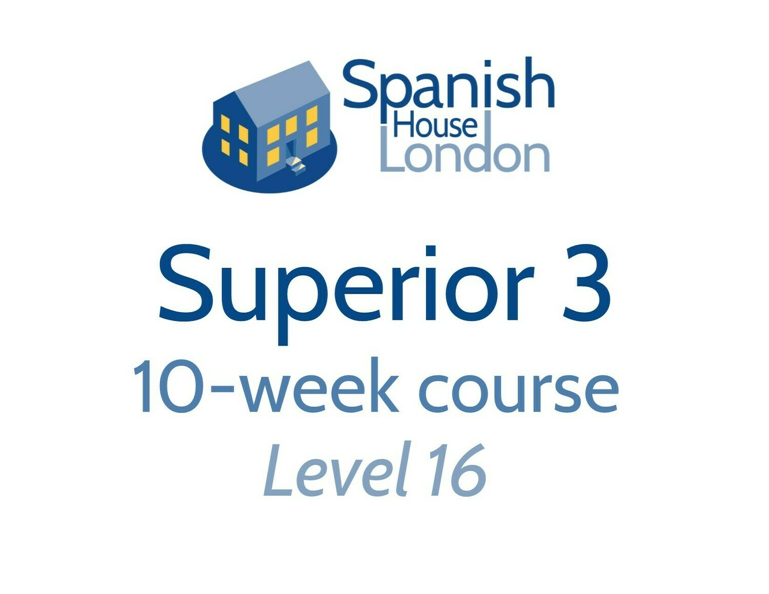 Superior 3 Course starting on 19th November at 6pm in Clapham North