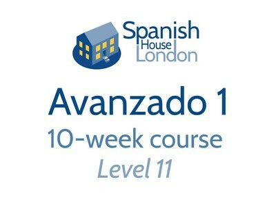 Avanzado 1 Course starting on 14th October at 6pm