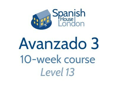 Avanzado 3 Course starting on 22nd September at 6pm