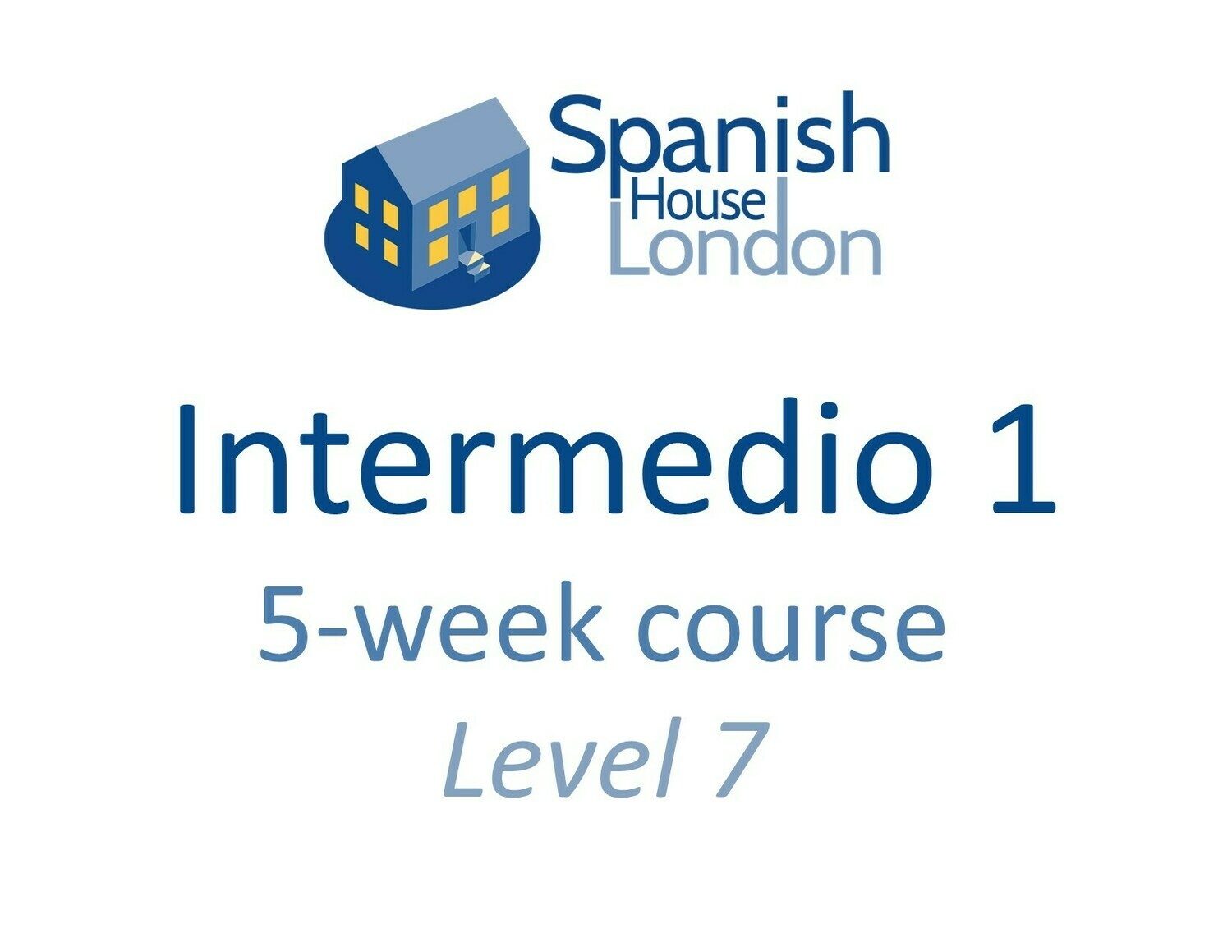 Intermedio 1 Course starting on 1st December at 7.30pm