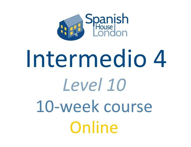 Intermedio 4 Course starting on 22nd March at 6pm